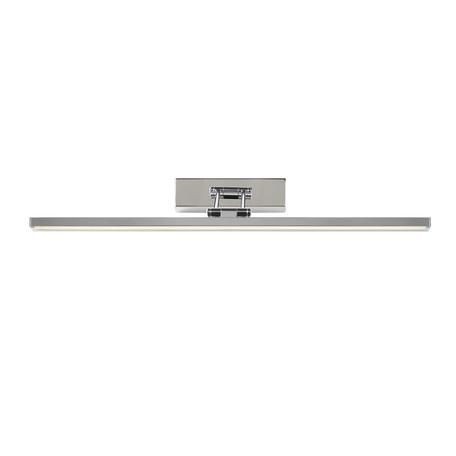 Настенный светодиодный светильник для подсветки картин Lucide Erwan 48203/12/11, IP21, LED 12W 3000K 466lm CRI80, хром, металл, пластик