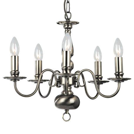 Arte Lamp Antwerpen A1029LM-5AB, 5xE14x40W, бронза, металл