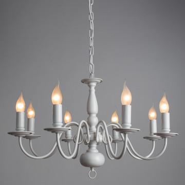 Arte Lamp Antwerpen A1029LM-8WC, 8xE14x40W - миниатюра 2