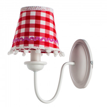 Arte Lamp Kids A5165AP-1WH, 1xE14x40W, разноцветный, красный