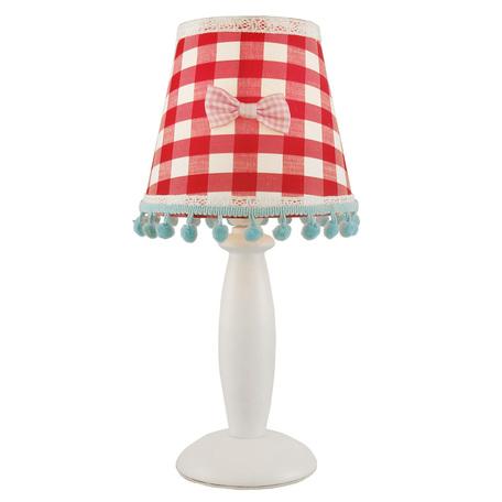 Arte Lamp Kids A5165LT-1WH, 1xE14x40W, разноцветный, красный