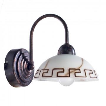 Arte Lamp Rustica A6884AP-1BR, 1xE27x60W, белый, коричневый