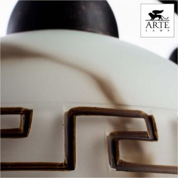 Arte Lamp Rustica A6884LM-5BR, 5xE27x60W, белый, коричневый - миниатюра 7