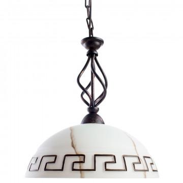 Arte Lamp Rustica A6884SP-1BR, 1xE27x60W, белый, коричневый