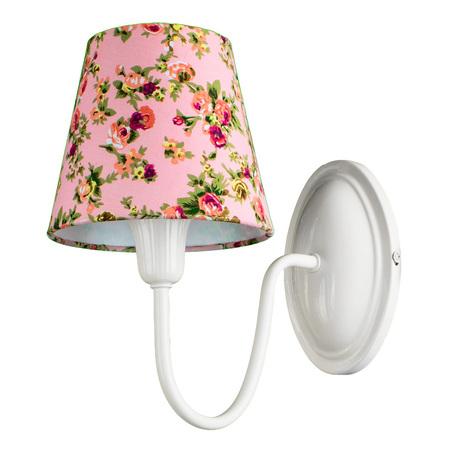 Arte Lamp Kids A9212AP-1WH, 1xE14x40W, разноцветный, розовый