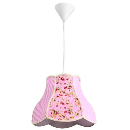 Arte Lamp Kids A9222SP-1WH, 1xE27x40W, разноцветный, розовый