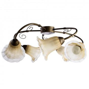 Arte Lamp Mormorio A9361PL-5BR, 5xE27x40W, белый