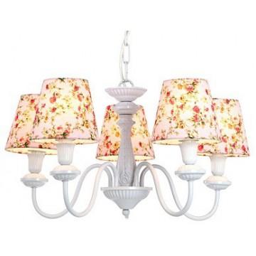 Arte Lamp Kids A9212LM-5WH, 5xE14x40W, белый, разноцветный, металл, текстиль