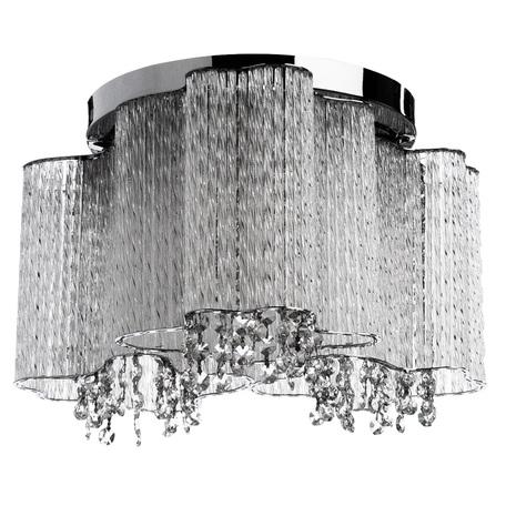 Потолочная люстра Arte Lamp Twinkle A8560PL-3CL, 3xE14x40W, хром, прозрачный, металл, стекло, хрусталь