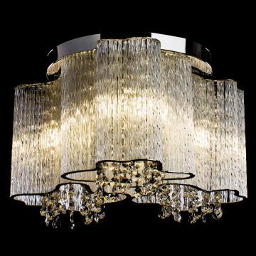 Потолочная люстра Arte Lamp Twinkle A8560PL-3CL, 3xE14x40W, хром, прозрачный, металл, стекло, хрусталь - миниатюра 2