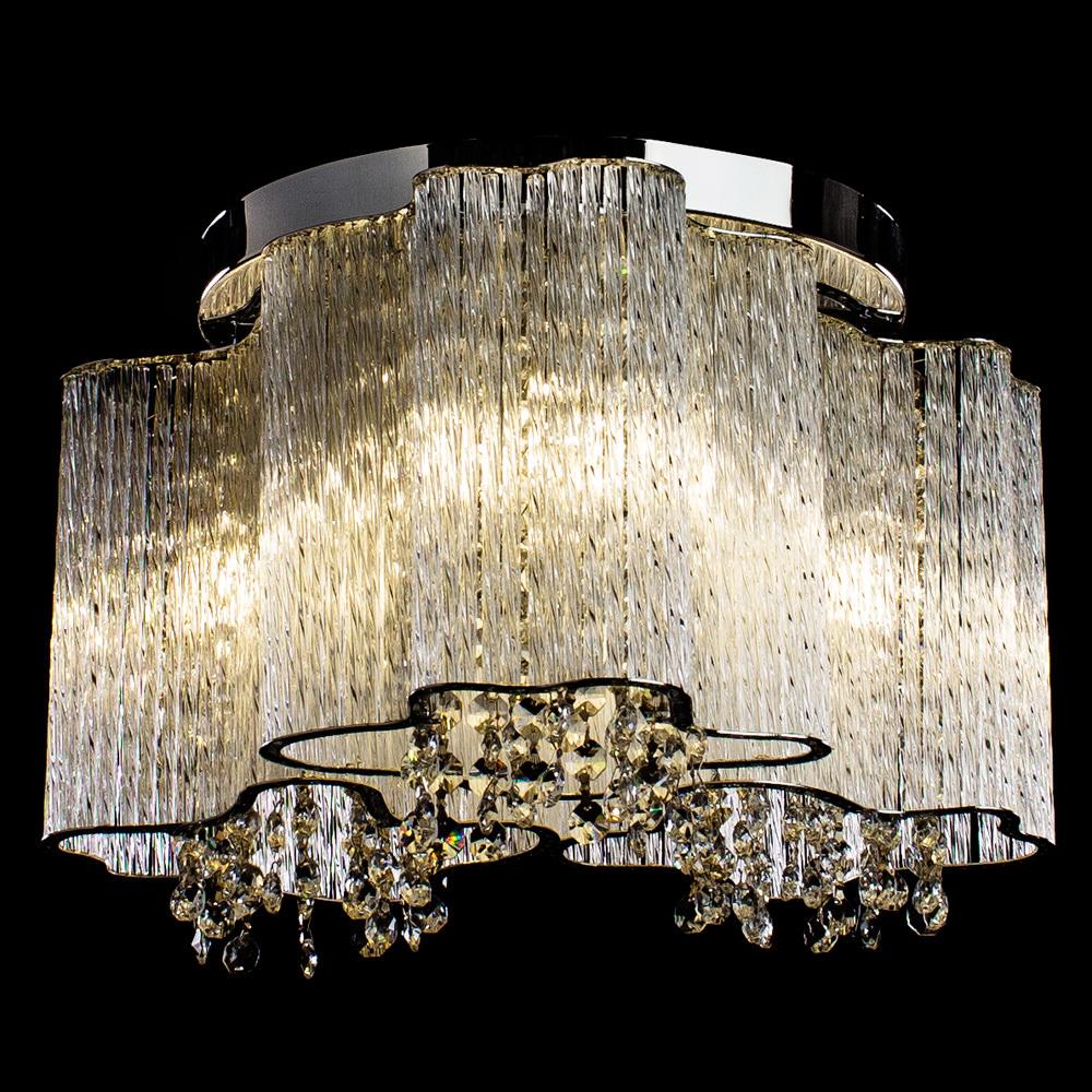 Потолочная люстра Arte Lamp Twinkle A8560PL-3CL, 3xE14x40W, хром, прозрачный, металл, стекло, хрусталь - фото 2