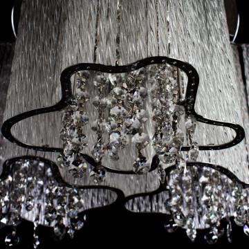 Потолочная люстра Arte Lamp Twinkle A8560PL-3CL, 3xE14x40W, хром, прозрачный, металл, стекло, хрусталь - миниатюра 3