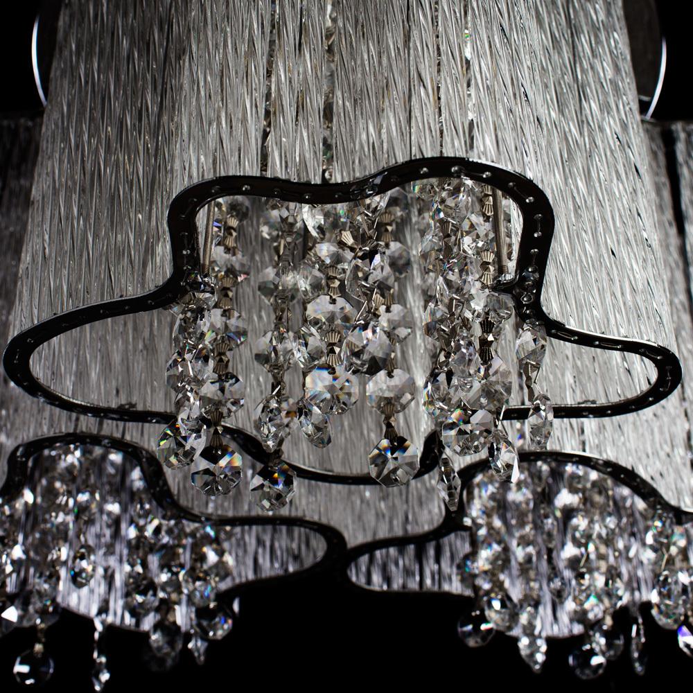 Потолочная люстра Arte Lamp Twinkle A8560PL-3CL, 3xE14x40W, хром, прозрачный, металл, стекло, хрусталь - фото 3