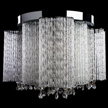 Потолочная люстра Arte Lamp Twinkle A8560PL-3CL, 3xE14x40W, хром, прозрачный, металл, стекло, хрусталь - миниатюра 4