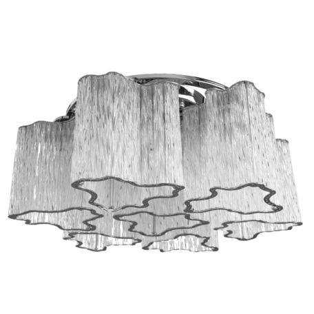 Потолочная люстра Arte Lamp Diletto A8567PL-7CL, 7xE14x40W, хром, прозрачный, металл, стекло