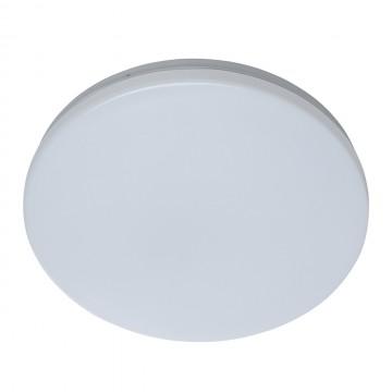 Потолочный светодиодный светильник De Markt Ривз 674017401, LED 14W 3000K (теплый), белый, металл, пластик - миниатюра 2