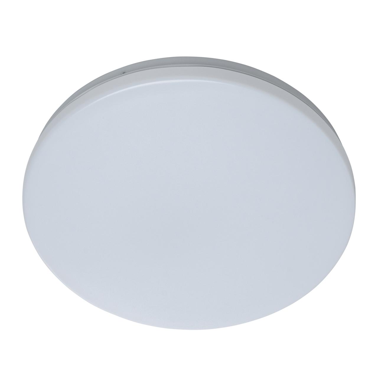 Потолочный светодиодный светильник De Markt Ривз 674017401, LED 14W 3000K (теплый), белый, металл, пластик - фото 2