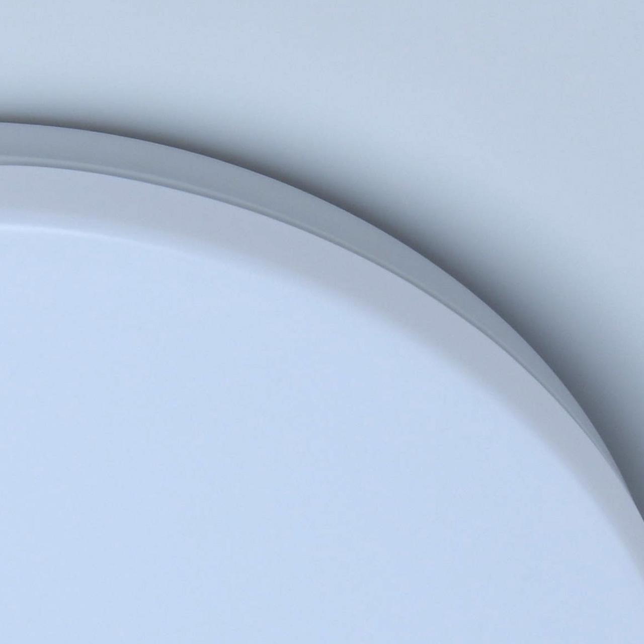 Потолочный светодиодный светильник De Markt Ривз 674017401, LED 14W 3000K (теплый), белый, металл, пластик - фото 4