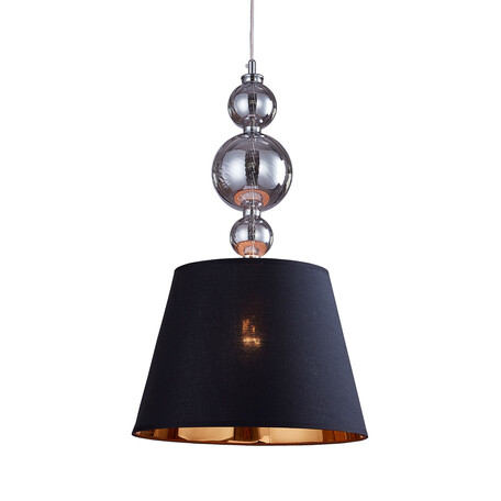 Подвесной светильник Lumina Deco Muraneo LDP 1123 BK, 1xE27x40W