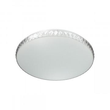 Потолочный светильник Sonex 2077/EL, IP43, прозрачный, белый, металл, пластик