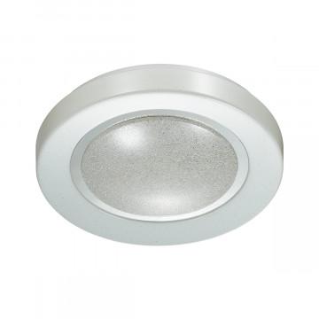 Потолочный светодиодный светильник Sonex Pinola 2079/CL, IP43, LED 30W 4000K 3150lm, белый, металл, пластик