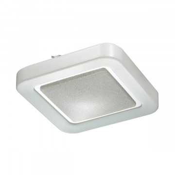 Потолочный светодиодный светильник Sonex Pino 2080/CL, IP43, LED 30W 4000K 3150lm, белый, металл, пластик