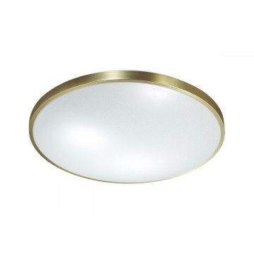 Потолочный светодиодный светильник Sonex Lota Bronze 2089/EL, IP43, LED 72W 3000-6000K 5000lm, белый, бронза, металл, пластик
