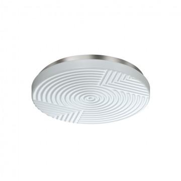 Потолочный светильник Sonex 2083/BL, IP43, белый, металл, пластик