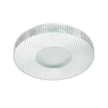 Потолочный светильник Sonex 2093/DL, IP43, белый, матовый, металл, пластик