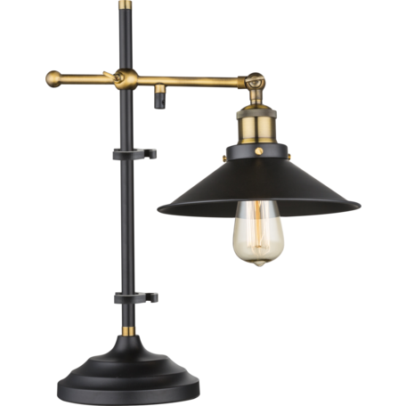 Настольная лампа Globo Lenius 15053T, 1xE27x60W, металл