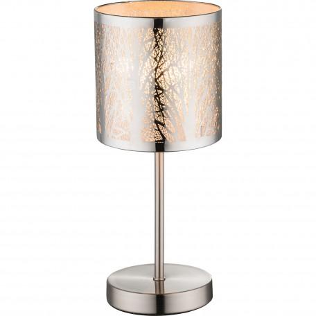 Настольная лампа Globo Lort 15085T, 1xE14x40W, металл