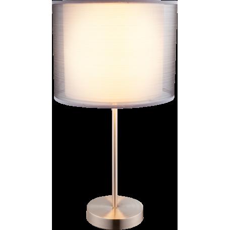 Настольная лампа Globo Theo 15190T1, 1xE27x60W, металл, пластик, текстиль