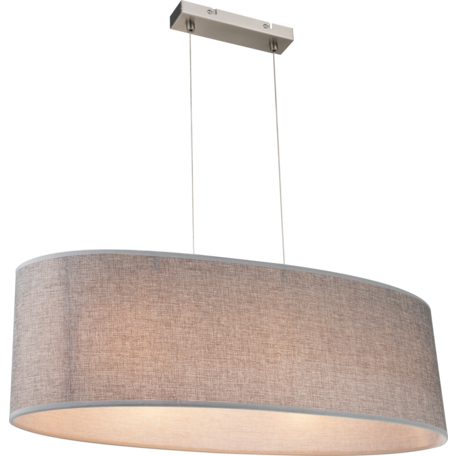 Подвесной светильник Globo Paco 15185H2, 3xE27x60W, металл, текстиль