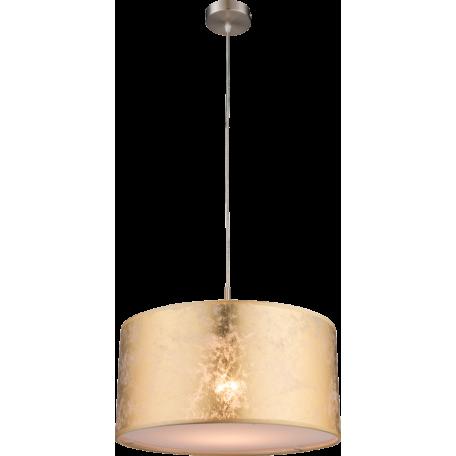 Подвесной светильник Globo Amy 15187H, 1xE27x60W, металл, текстиль