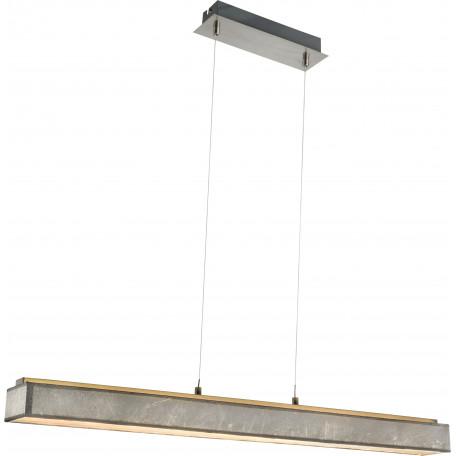 Подвесной светодиодный светильник Globo Amy I 15188-18H, LED 18W, 3000K (теплый), металл, пластик, текстиль