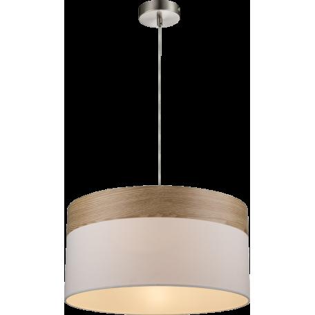Подвесной светильник Globo Chipsy 15221H, 1xE27x60W, металл, текстиль