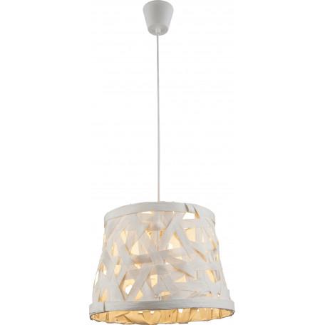 Подвесной светильник Globo Salvador 15223, 1xE27x60W, металл, бумага/картон