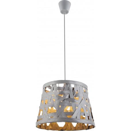 Подвесной светильник Globo Salvador 15224, 1xE27x60W, металл, бумага/картон