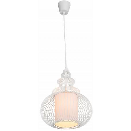 Подвесной светильник Globo Damian 15236, 1xE27x40W, металл, текстиль
