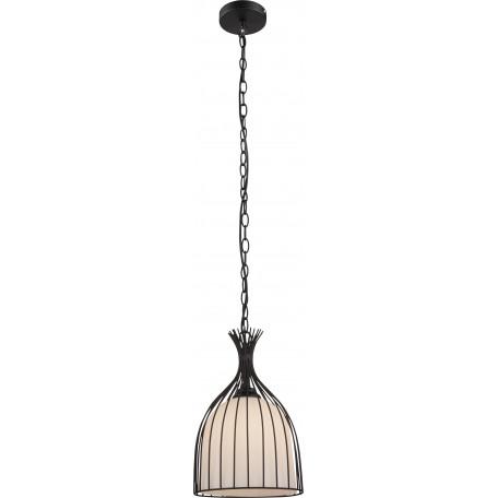 Подвесной светильник Globo Stacy 15272, 1xE27x60W, металл, стекло