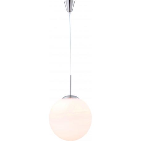 Подвесной светильник Globo Balla 1584, 1xE27x60W, металл, стекло