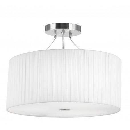 Потолочный светильник Globo La Nube 15105-3, 3xE27x40W, металл, стекло, текстиль