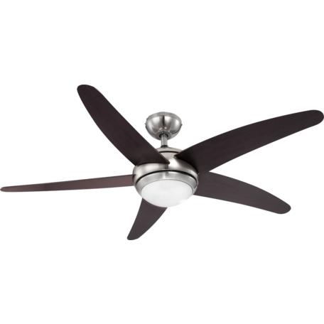 Потолочный светильник-вентилятор с пультом ДУ Globo Fabiola 0306, 1xR7S78mmx80W, металл, дерево, стекло