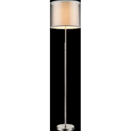Торшер Globo Theo 15190S, 1xE27x60W, металл, текстиль