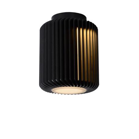 Настольная светодиодная лампа Lucide Turbin 26500/05/30, LED 5W 3000K 400lm CRI80, черный, металл