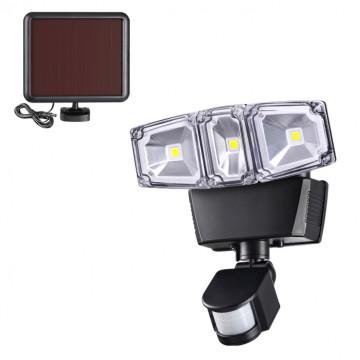 Светодиодный прожектор Novotech Solar 358019, IP54, LED 12W 6000K 1200lm, черный, пластик
