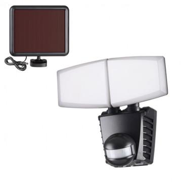 Светодиодный прожектор Novotech Solar 358021, IP54, LED 20W 6000K 700lm, черный, пластик