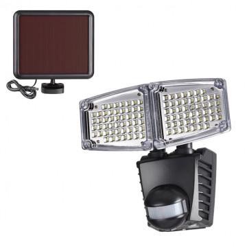 Светодиодный прожектор Novotech Solar 358022, IP54, LED 20W 6000K 1000lm, черный, пластик