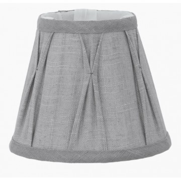 Абажур Eglo 1+1 Vintage 49436, серый, текстиль