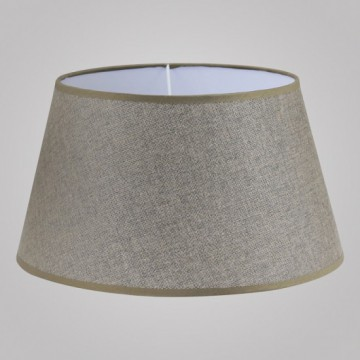Абажур Eglo 1+1 Vintage 49957, коричневый, текстиль